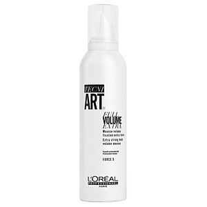 Moussse L'oreal Tecni.art Full Volume Extra tạo độ phồng cho tóc khi sấy 250ml [QC-Tiki]