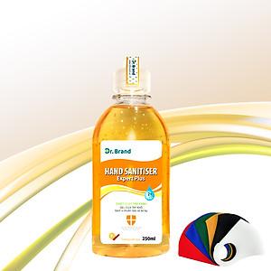 Nước rửa tay khô diệt khuẩn, diệt virus chuyên dùng cho nhân viên y tế, được kiểm nghiệm tại viện Pasteur Tp.Hồ Chí Minh – Dr.Brand – 250ml -  Tặng 1 khẩu trang vải [QC-Tiki]