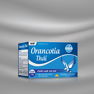 Hộp 25 gói bôi nhiệt miệng Orancotia Thái [QC-Tiki]