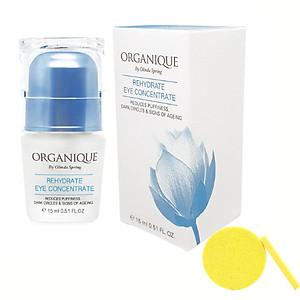 Kem Dưỡng Ẩm Vùng Mắt Organique Rehydrate Eye Concentrate (15ml) - Tặng Kèm Mút Rửa Mặt [QC-Tiki]