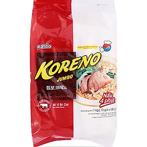Mì Jumbo Koreno Vị Bò Cay Paldo (1kg)