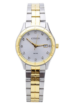 Đồng hồ nữ dây kim loại Citizen EU6044