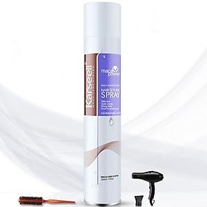 Gôm xịt tóc giữ nếp cứng Karseell Maca Essence Hair Styling spray 380ml [QC-Tiki]