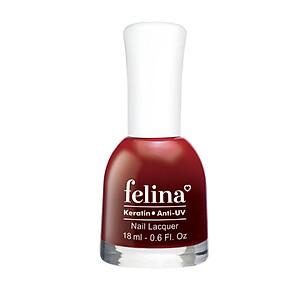 Sơn móng tay Felina 18ml CS302 Đỏ Lựu [QC-Tiki]