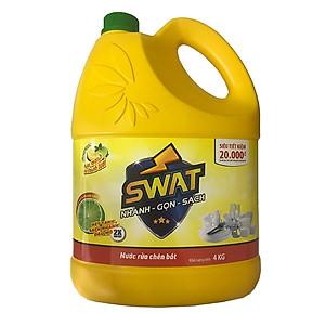 Nước Rửa Chén Swat Chanh (4kg)