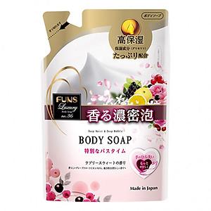 Sữa tắm hương nước hoa Funs Luxury No 36 Nhật Bản DẠNG TÚI (380ML) [QC-Tiki]