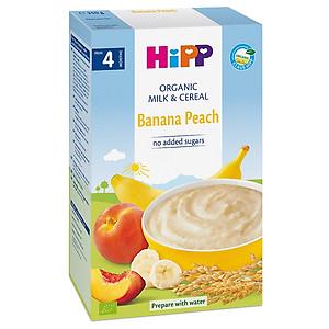 Bột dinh dưỡng Hipp chuối đào 250g 4M+