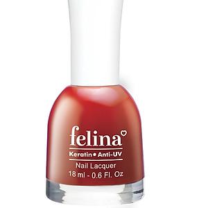 Sơn móng tay Felina 18ml CS318 - Đỏ Ớt [QC-Tiki]