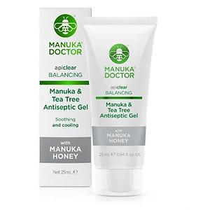Gel dưỡng Manuka Doctor Tea Tree Antiseptic Gel - 25ml [QC-Tiki]
