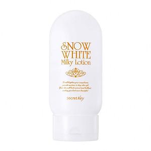 Sữa dưỡng thể dưỡng trắng da Secret Key Snow White Milky Lotion 120g [QC-Tiki]