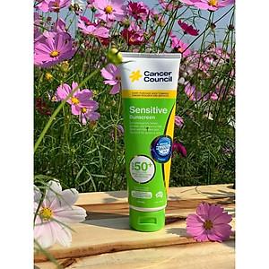 Kem chống nắng cho da nhạy cảm Cancer Council Sensitive SPF 50+/PA++++ 110ml [QC-Tiki]