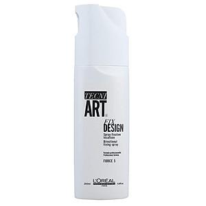 Gôm xịt tóc L'oreal Tecni.art Fix Design spray Force 5 cứng định hình kiểu tóc 200ml [QC-Tiki]
