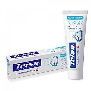 Kem Đánh Răng Trisa Revital Sensitive 75ml [QC-Tiki]