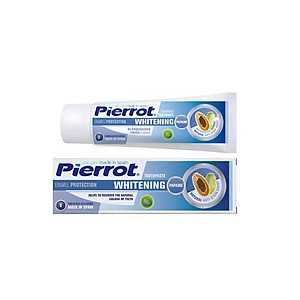 Kem đánh răng làm trắng răng PIERROT 75ml [QC-Tiki]