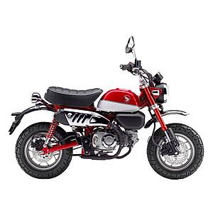 Xe Máy Honda Monkey - Xanh Đen Trắng