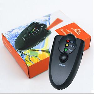 Máy đo nồng độ cồn của hơi thở mini với 3 mức cảnh báo dạng móc chìa khóa nhỏ gọn tiện lợi - Hàng Nhập Khẩu [QC-Tiki]
