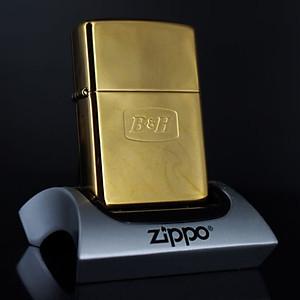 Bật Lửa Zippo La Mã 2000 - Đồng Nguyên Khối - B&H