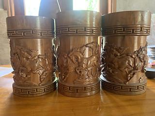 Hũ đựng trà gỗ ngọc am - hình 1