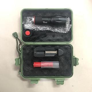 Đèn pin ultrafire xml t6 siêu sáng, hợp kim chống nước, 1000 lumen, chiếu xa 200m tới 500m , pin sạc fullbox, tặng pin green hhtc 18650  loại tốt - hình 3