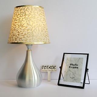 Đèn trang trí để bàn | thân bầu kim loại - bóng led | dla0001 - hình 4