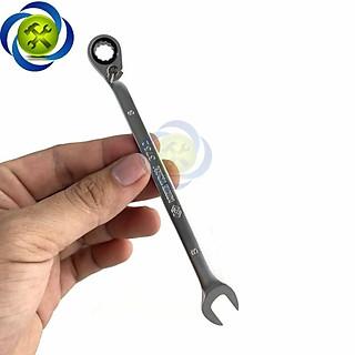 Cờ lê vòng miệng tự động 8mm kingtony 373208m có khóa gạt - hình 1
