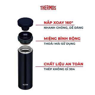 Bình giữ nhiệt inox Thermos nắp vặn 500ml JNO 502 - Hàng chính hãng - hình 4