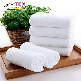 Khăn tắm, khăn mặt riotex mềm mịn không xù kích thước 34x86cm 90g - hình 3