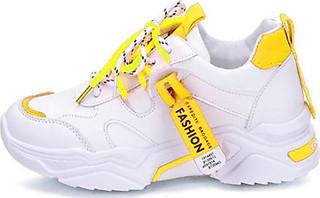 Giày thể thao nữ thời trang dây phối màu