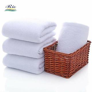 Khăn tắm, khăn mặt riotex mềm mịn không xù kích thước 34x86cm 90g - hình 1
