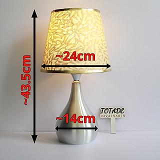 Đèn trang trí để bàn | thân bầu kim loại - bóng led | dla0001 - hình 3