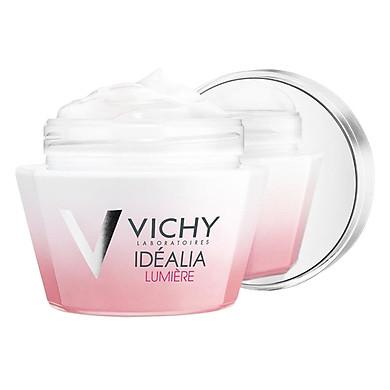 Kem Dưỡng Da Trắng Hồng Căng Mọng Dùng Cho Ban Ngày Vichy Idealia Lumiere Cream M9157700 - 100867361 (50ml)