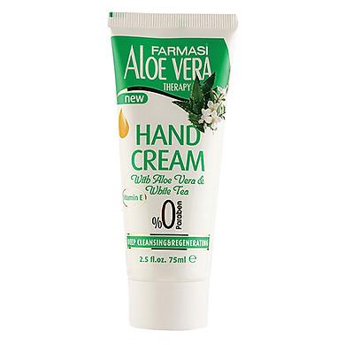 Kem Dưỡng Ẩm Chống Lão Hóa Cho Tay Chiết Xuất Nha Đam Farmasi Hand Cream Tuýp 75ml - 1929HAN