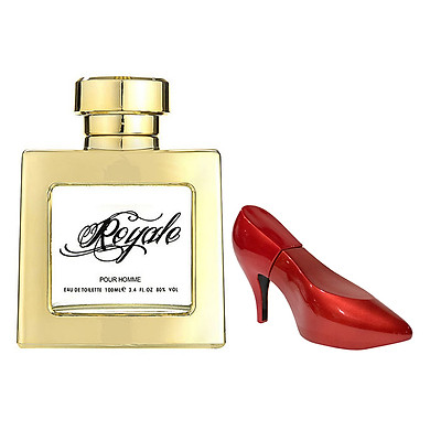 Combo 2 Nước Hoa Laurelle London Perfumes Royale (100ml) + Sexxy Shoo Red (30ml)