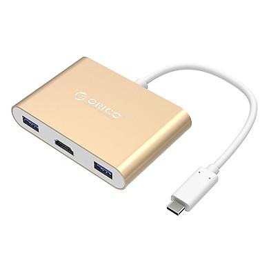 Bộ Chuyển Đổi USB Type-C Sang Type-C, USB3.0, HDMI Orico RCH-3A - Hàng Chính Hãng