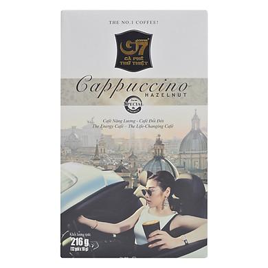 Cà Phê Cappuccino Hương Hazenut Trung Nguyên (Hộp 12 Gói)