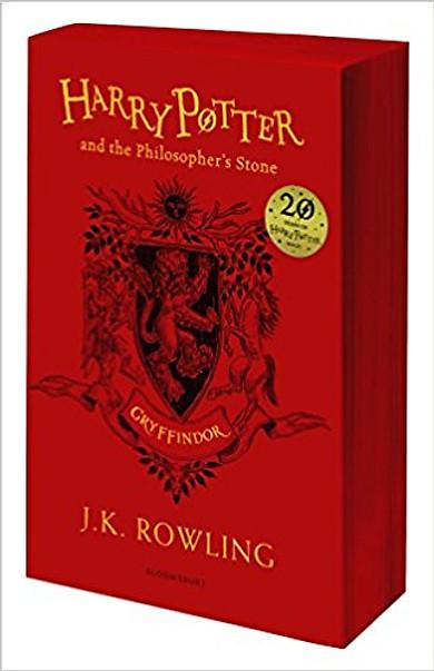 Harry Potter Part 1: Harry Potter And The Philosopher's Stone (Paperback) Gryffindor Edition (Harry Potter và Hòn đá phù thủy) (English Book)