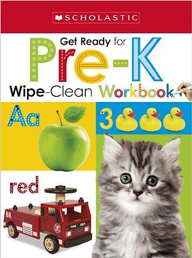 Wipe-Clean Workbooks: Get Ready For Pre-K (Scholastic Early Learners)