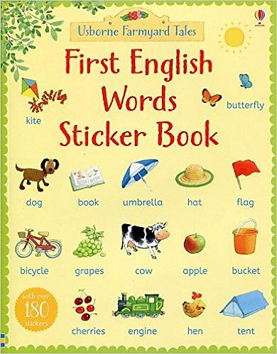 Usborne First Words Sticker Book