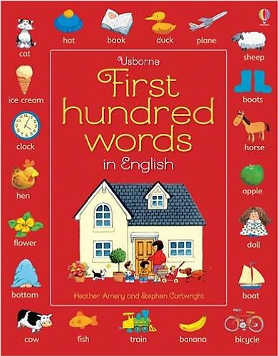 Usborne First hundred words in English