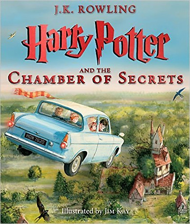 Harry Potter Part 2: Harry Potter And The Chamber Of Secrets (Paperback) Illustrated Edition (Harry Potter và Phòng chứa bí mật) (English Book)