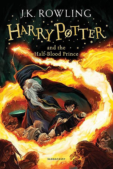 Harry Potter Part 6: Harry Potter And The Half-Blood Prince (Paperback) (Harry Potter và Hoàng Tử Lai) (English Book)
