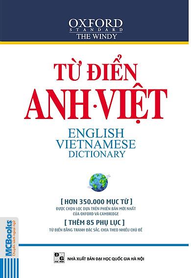 Từ Điển Anh - Việt (Hơn 350.000 Từ)