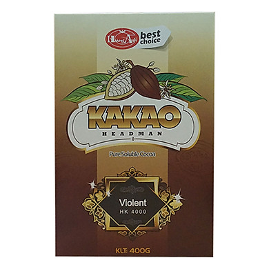 Bột Cacao Headman 2 In 1 Hộp Giấy (400g)