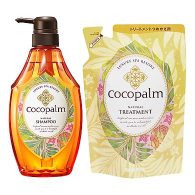 Dầu Gội Cocopalm Chai (600ml) - Tặng Dầu Xả Cocopalm Túi (500ml)