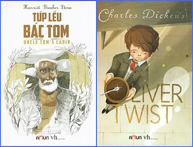 Combo Oliver Twist - Túp Lều Bác Tom (Đinh Tị Books)