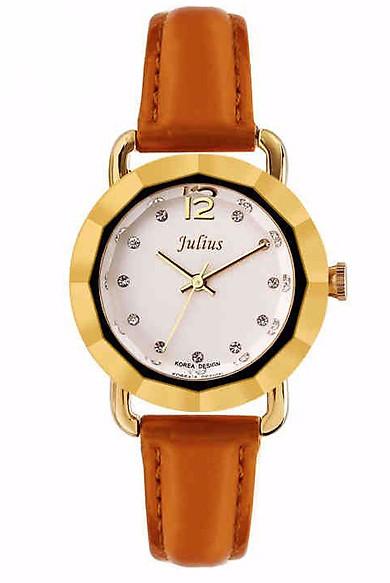 Đồng Hồ Nữ Dây Da Julius JA801