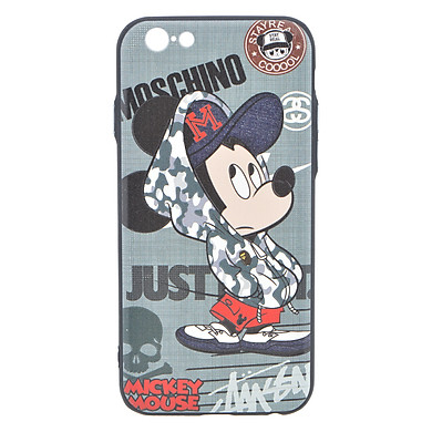 Ốp Lưng Cho iPhone 6/6s - Moschino Mickey Mouse