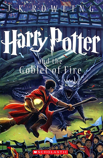 Harry Potter Part 4: Harry Potter And The Goblet Of Fire (Paperback) (English Book)