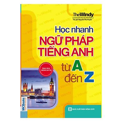 Học Nhanh Ngữ Pháp Tiếng Anh Từ A Đến Z
