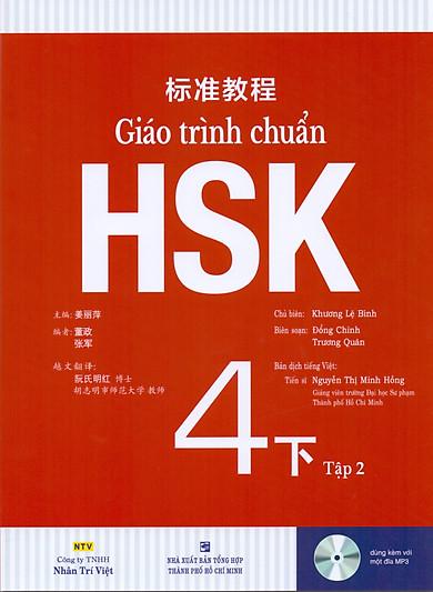 Giáo Trình Chuẩn HSK 4 Bài Học (Tập 2)